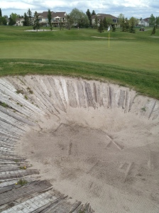 Star War bunkers at Lakeside Greens