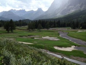 Hole # 18, Mt Lorette